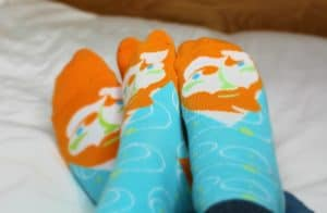 ChattyFeet sock review.