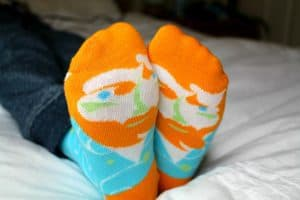 ChattyFeet sock review.
