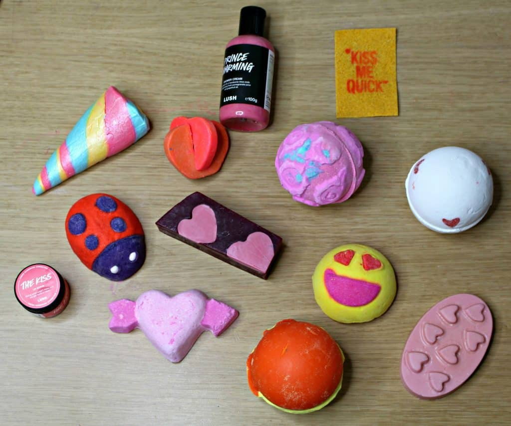 Lush valentine's collection 2017