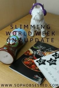 Slimming World Week one update pin