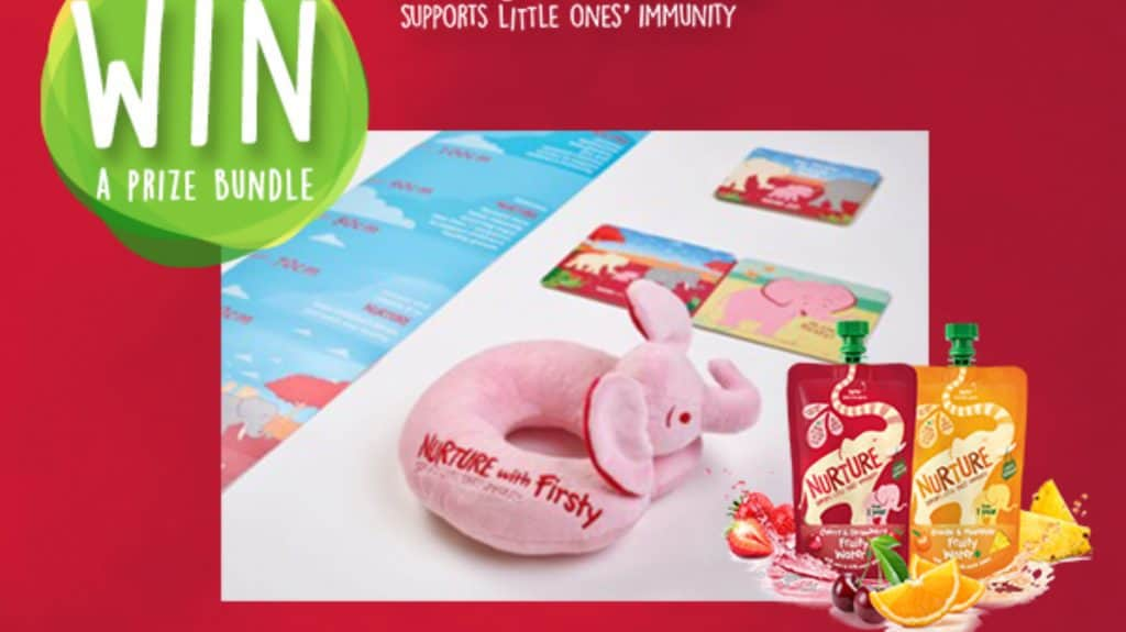 WIN Nurture Fruity Water+ Prize Bundle Worth £25