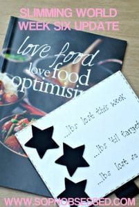 Slimming World Week Six