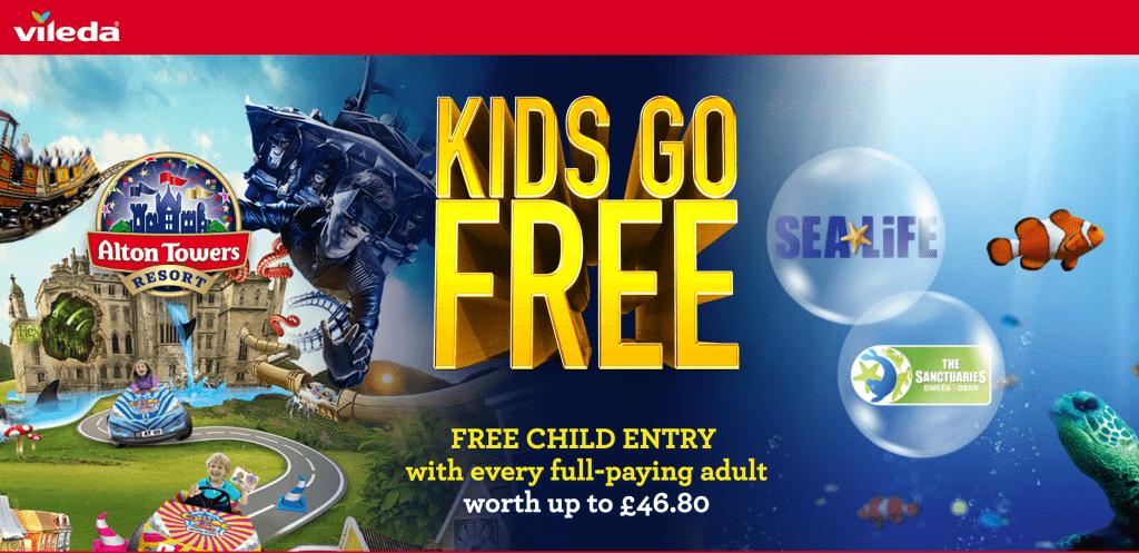 Win FreeTickets to SeaLife Courtesy of Vileda UK
