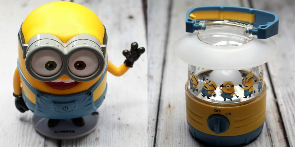 Minions inspired lighting products from VARTA – Review