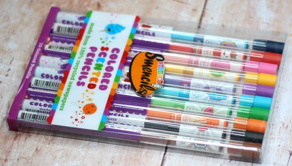 Coloured Scented pencils back to school must haves