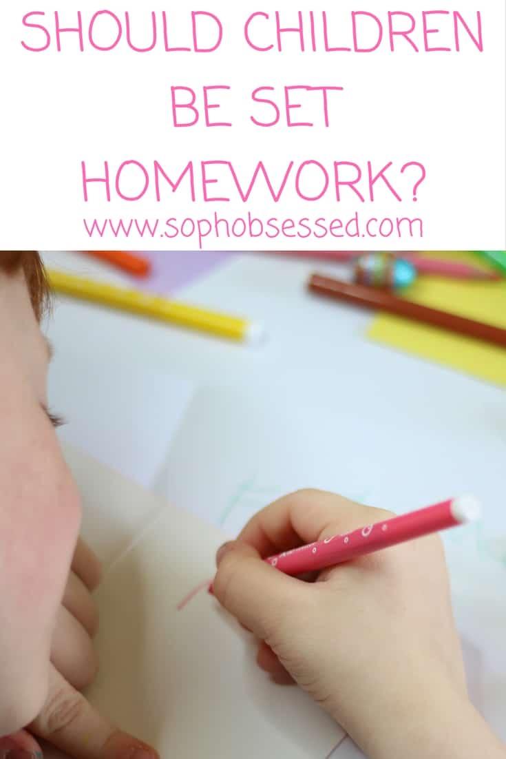 should children have homework