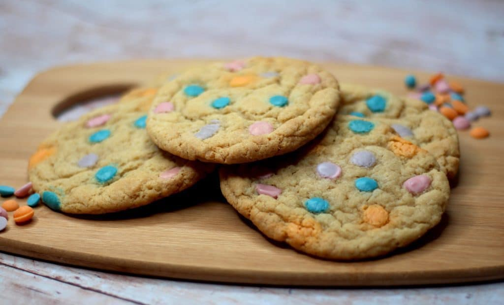 Unicorn Cookies using Dr Oetker Unicorn Chips