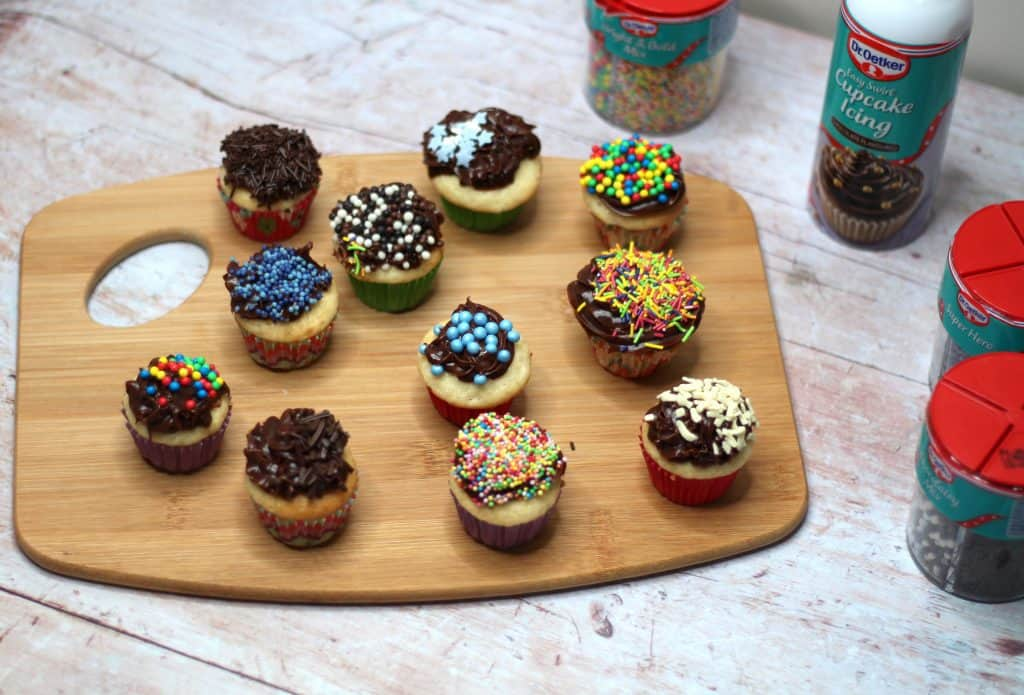 Mini Cupcakes for Mini Bakers – Dr Oetker