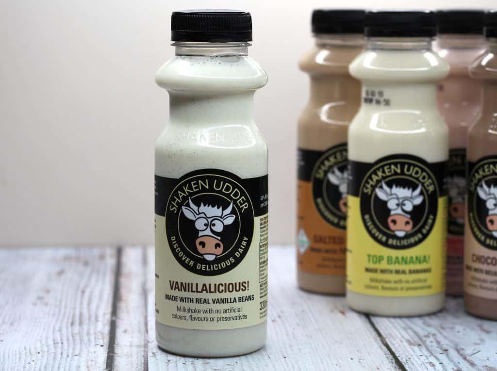 Shaken Udder Milkshakes Vanillalicious