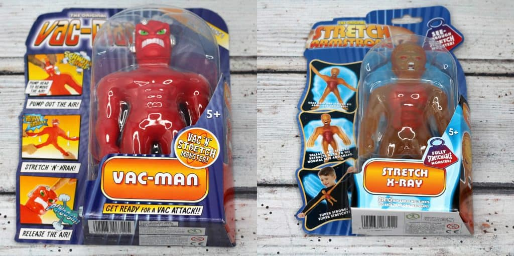 Vac Man and Stretch X-Ray Review
