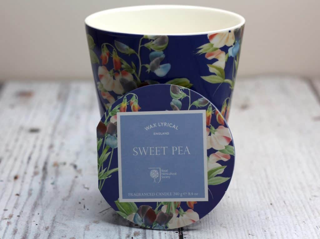 Wax Lyrical Sweet Pea Candle Valentines Gift