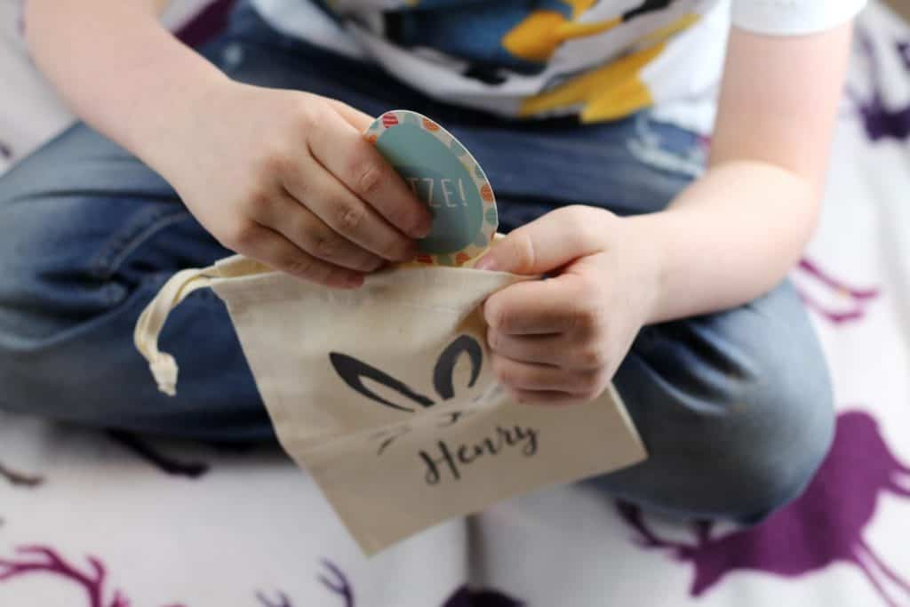 make Easter special with an egg hunt