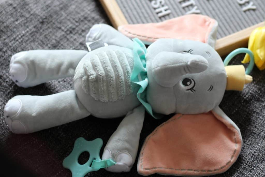 Disney Baby Dumbo Activity Plush