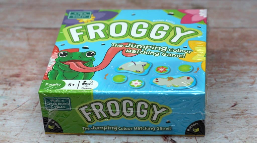 Froggy game box