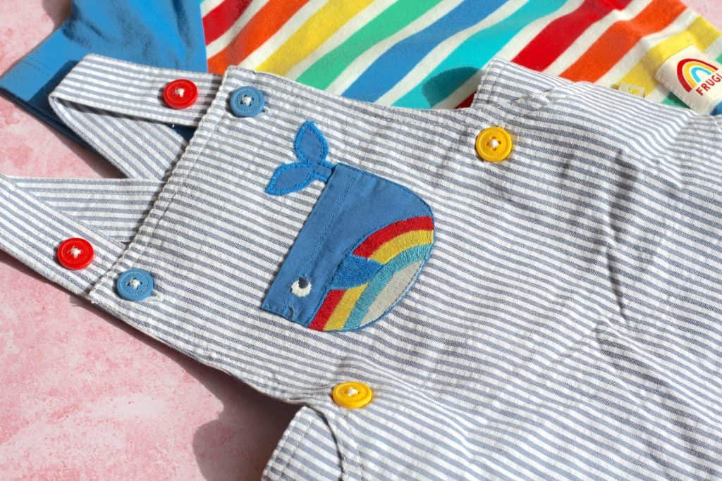 Frugi dungarees organic clothes