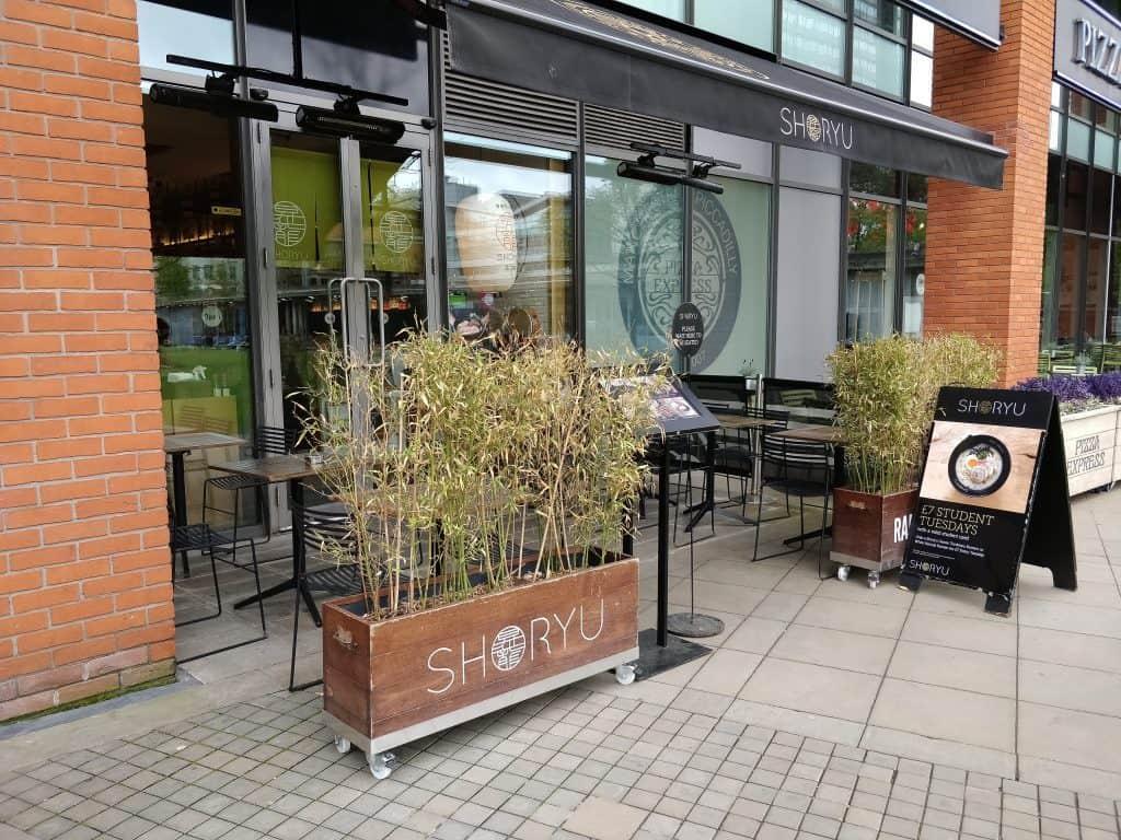 Shoryu Ramen Shop Front Manchester