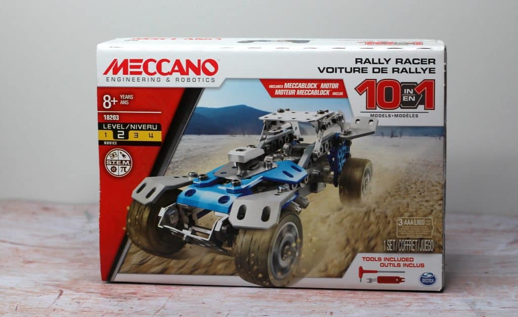 Meccano Rally Racer Box