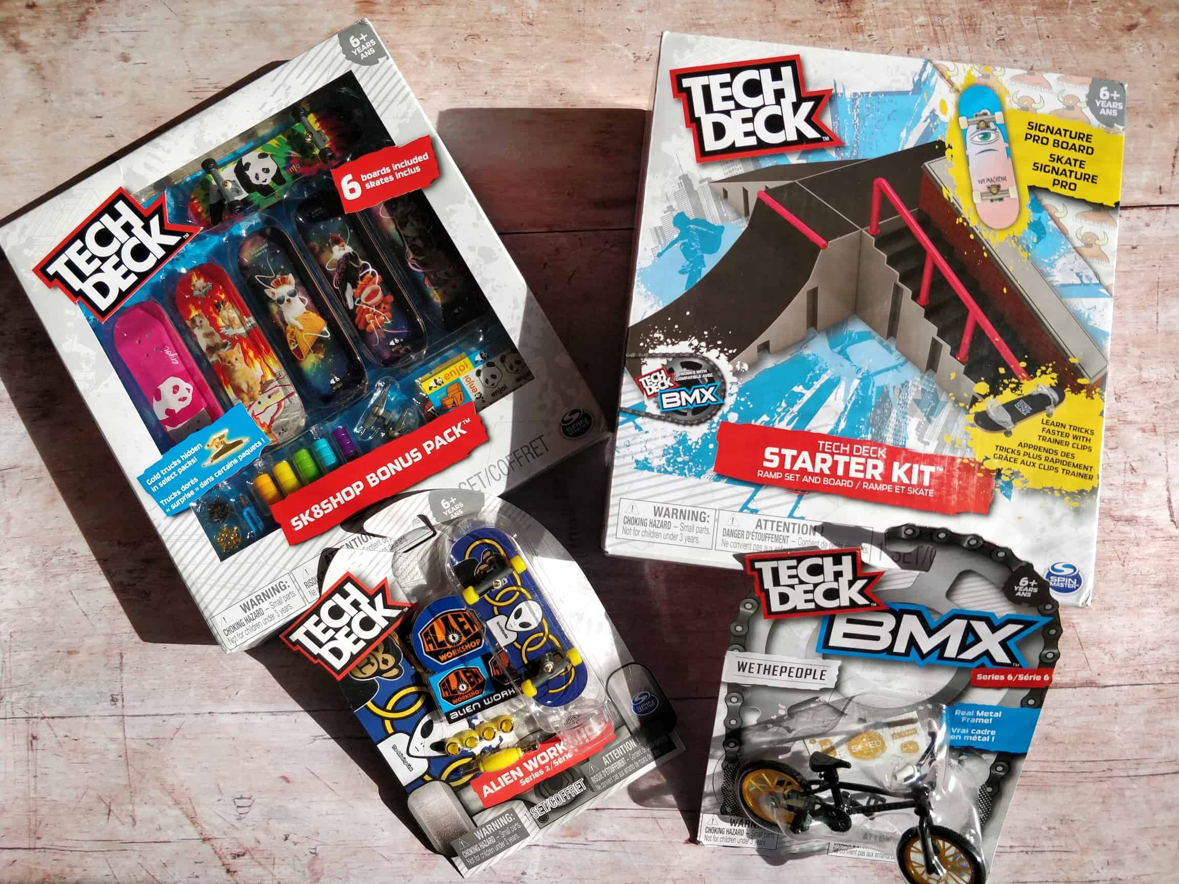 Tech Deck Fingerboards And Fun