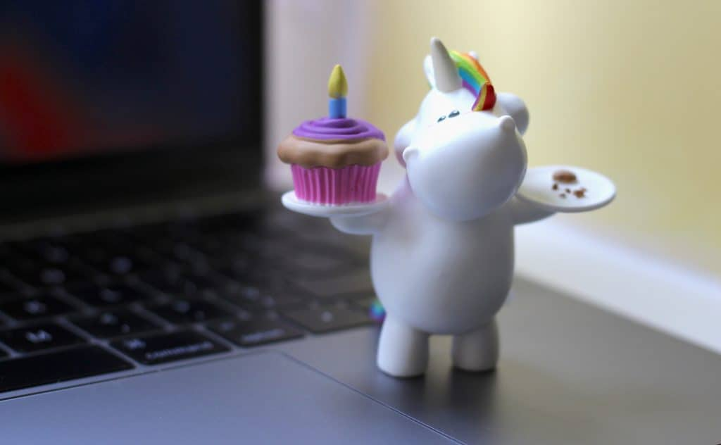Bullyland Chubby Unicorn Figures birthday