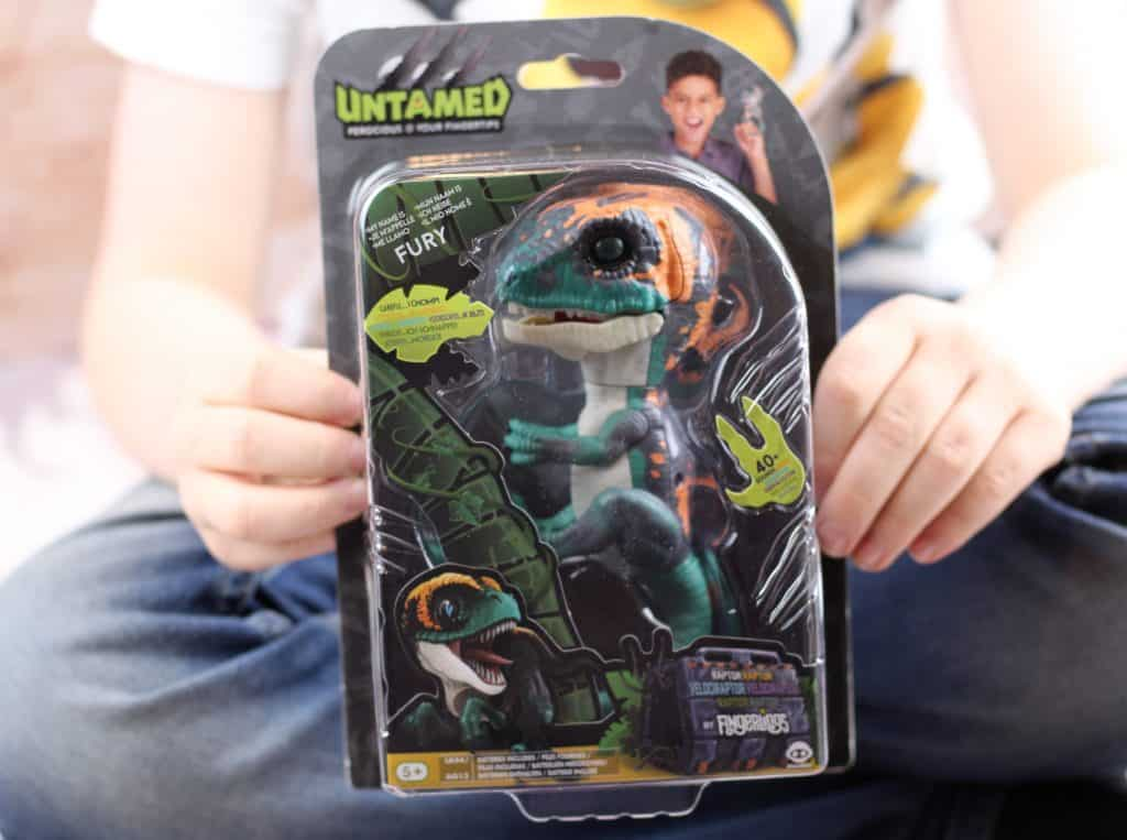 Untamed Raptor Dino in box