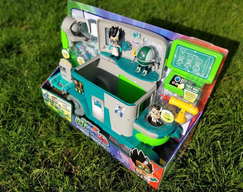 PJ Masks Romeo's Lab box