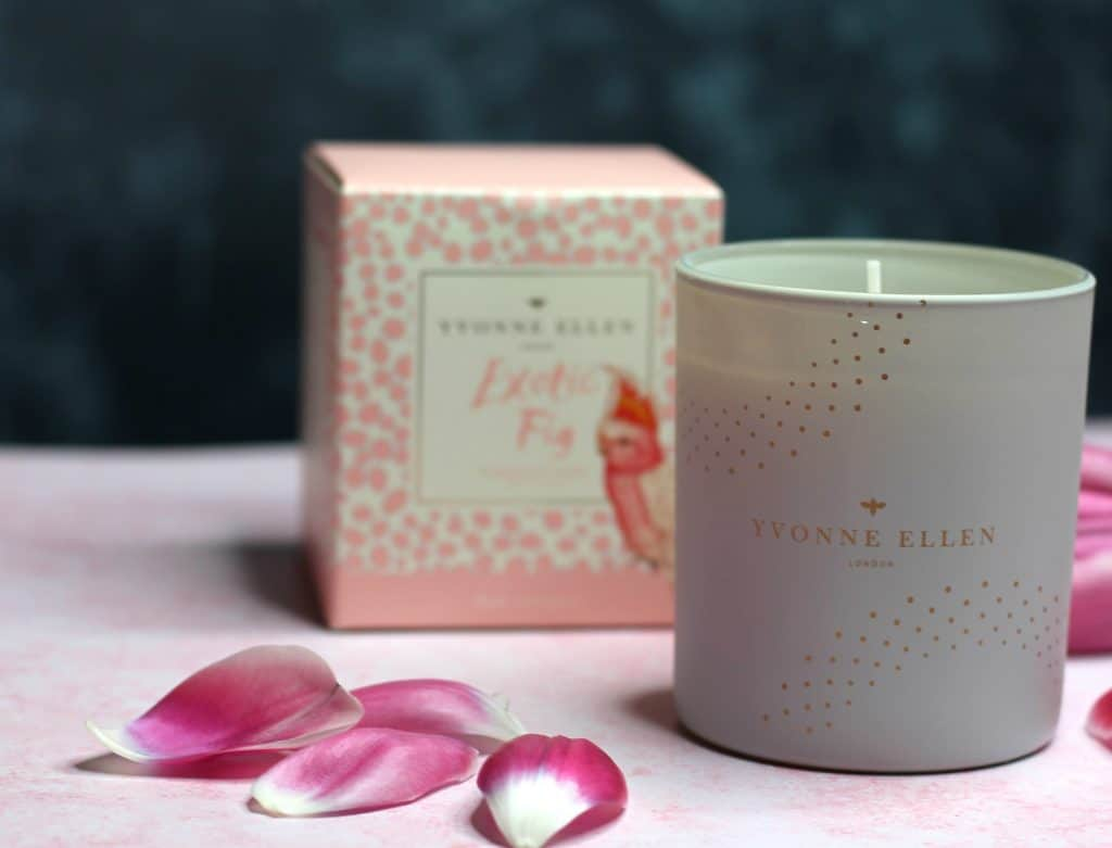 Yvonne Ellen Exotic Fig Candle and box 1