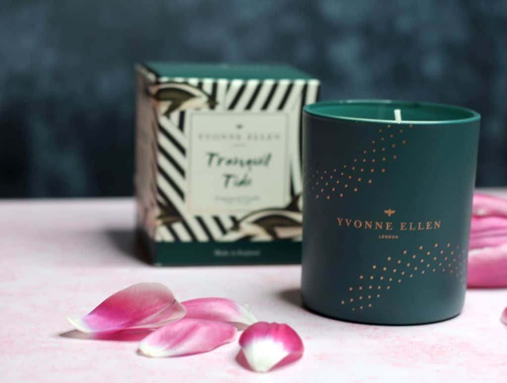 Yvonne Ellen Tranquil Tide Candle and box 1
