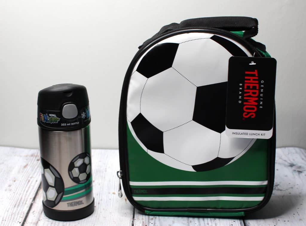 Thermos lunch bag and bottle
