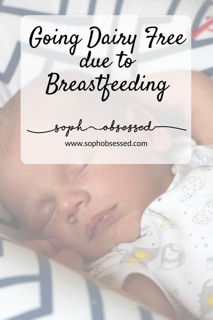 Having consumed dairy my whole life without any issue I was about to find out what it was like living with an allergy or intolerance thanks to having to go dairy free whilst breastfeeding.