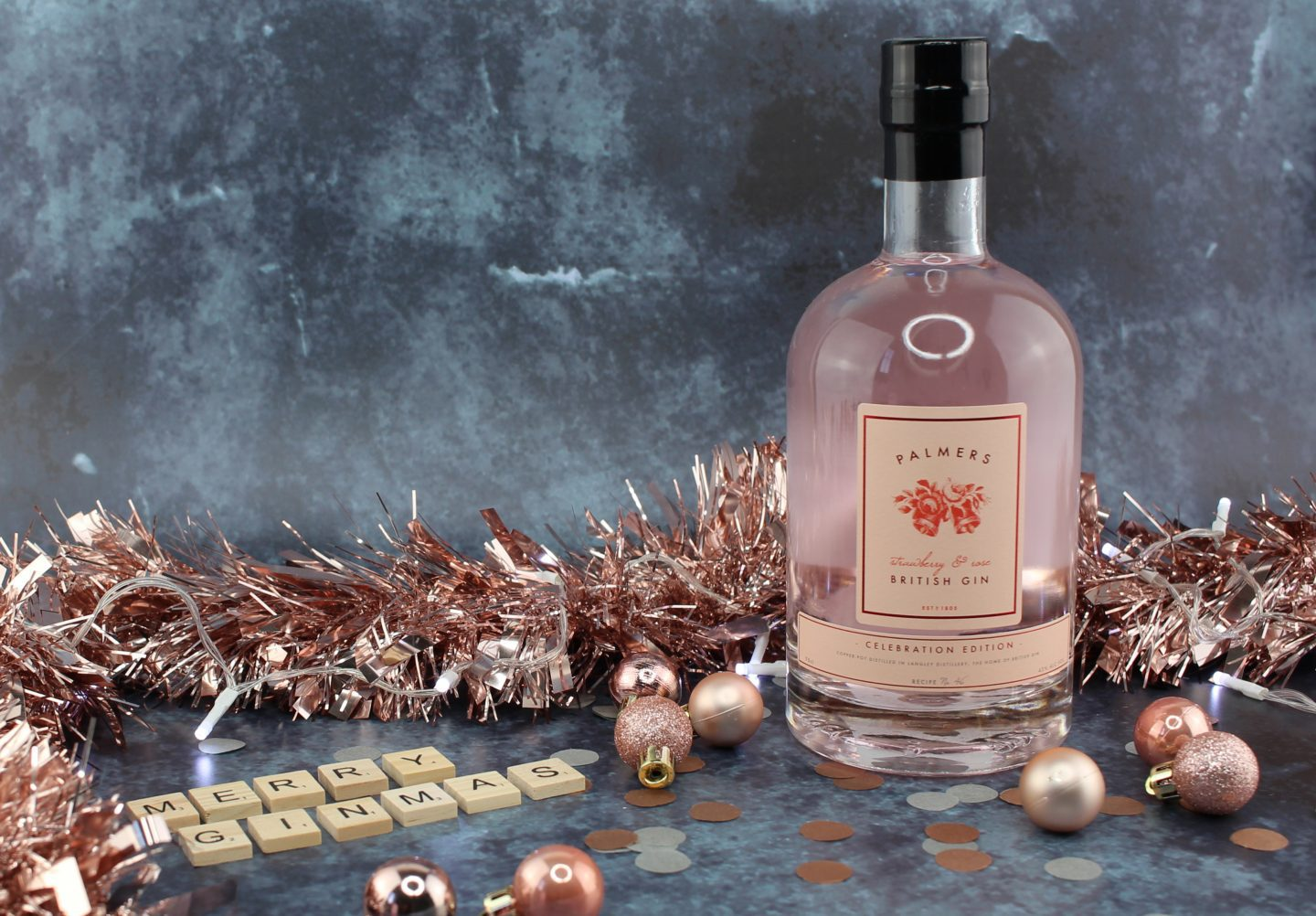 Palmers Strawberry & Rose gin