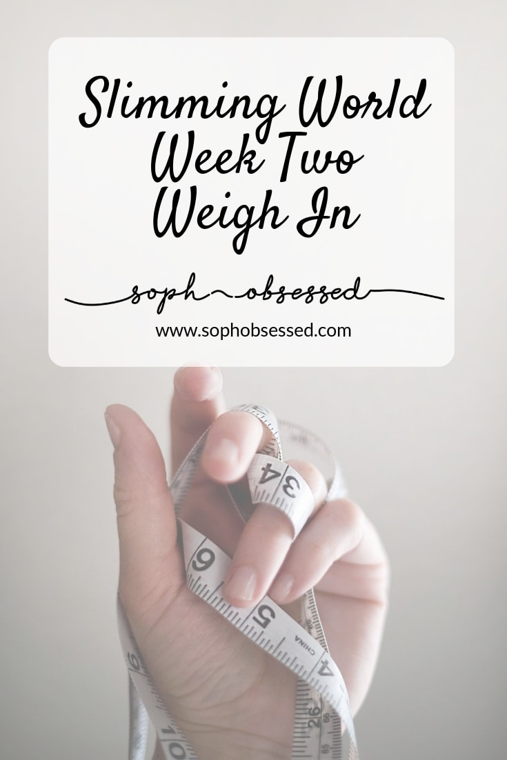 Last week was my first weigh in since I restarted my Slimming World journey and I was thrilled to see a loss on the scales. In the past, I have really battled with my weight but after finding Slimming World I was finally able to get a hold on things and had successful losses. After having my baby I am embarking on a weight loss journey again and after week two it's time for another update!