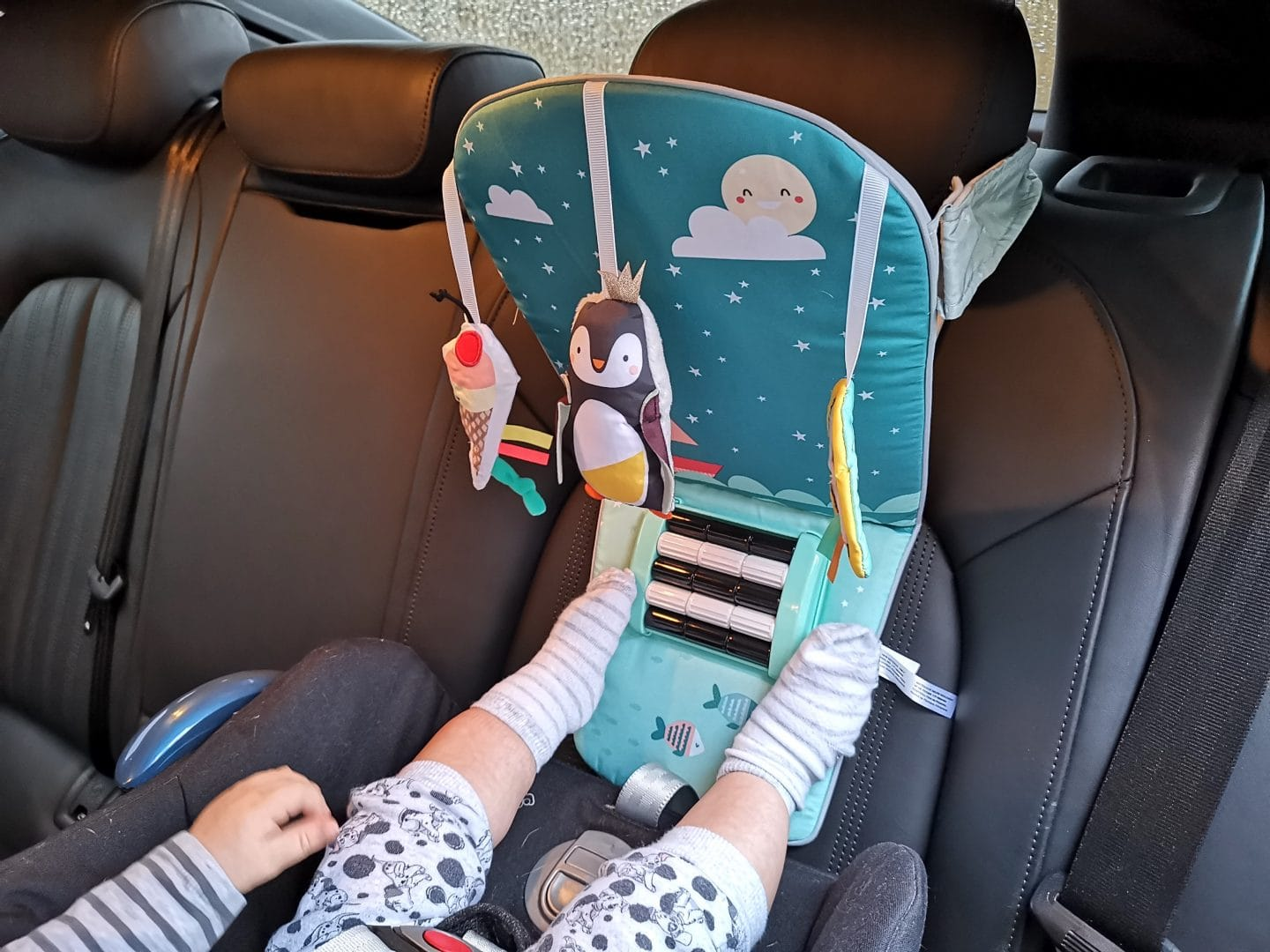 North Pole Feet Fun Car Toy