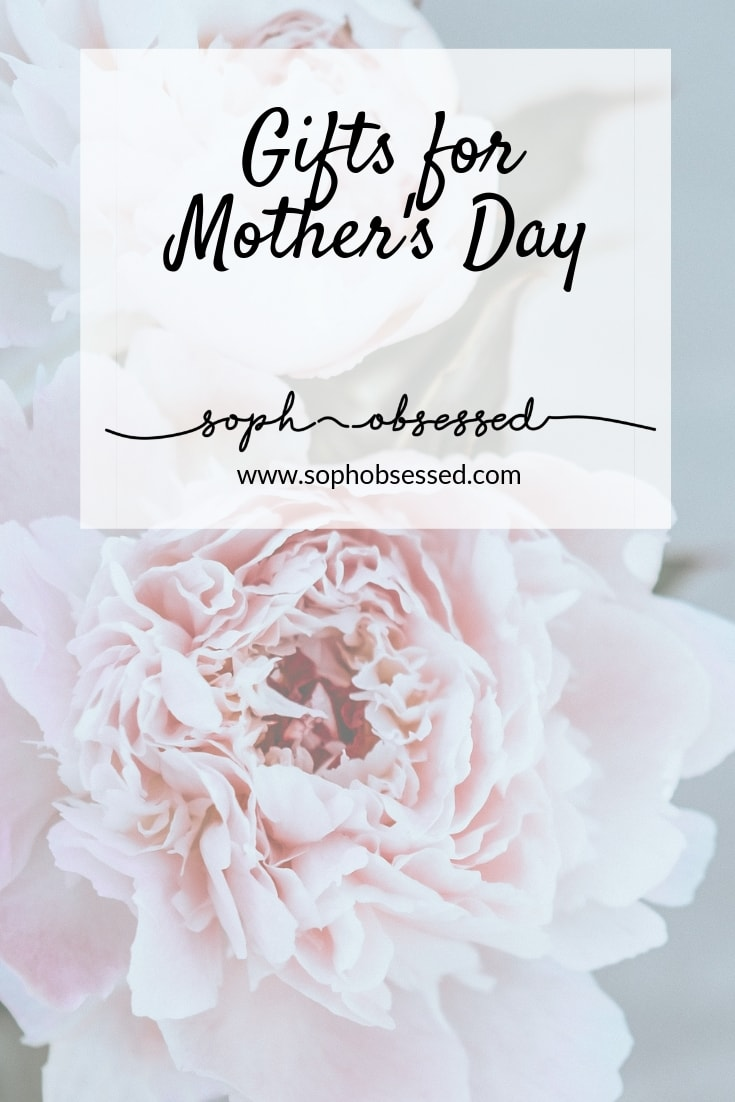 Mothers Day 2019 is on Sunday the 31st of March this year. It's a day to celebrate those special women in your life and show them exactly how much you care. When it comes to buying Mothers Day gifts, it's not always an easy task, so I have put together some items that I think will be perfect this year!