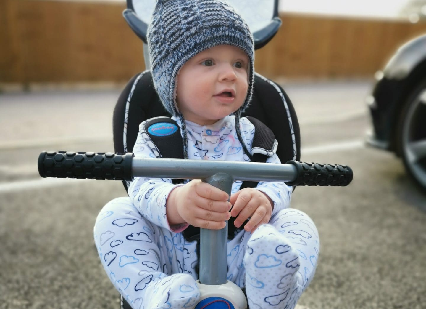 Baby on a Trike