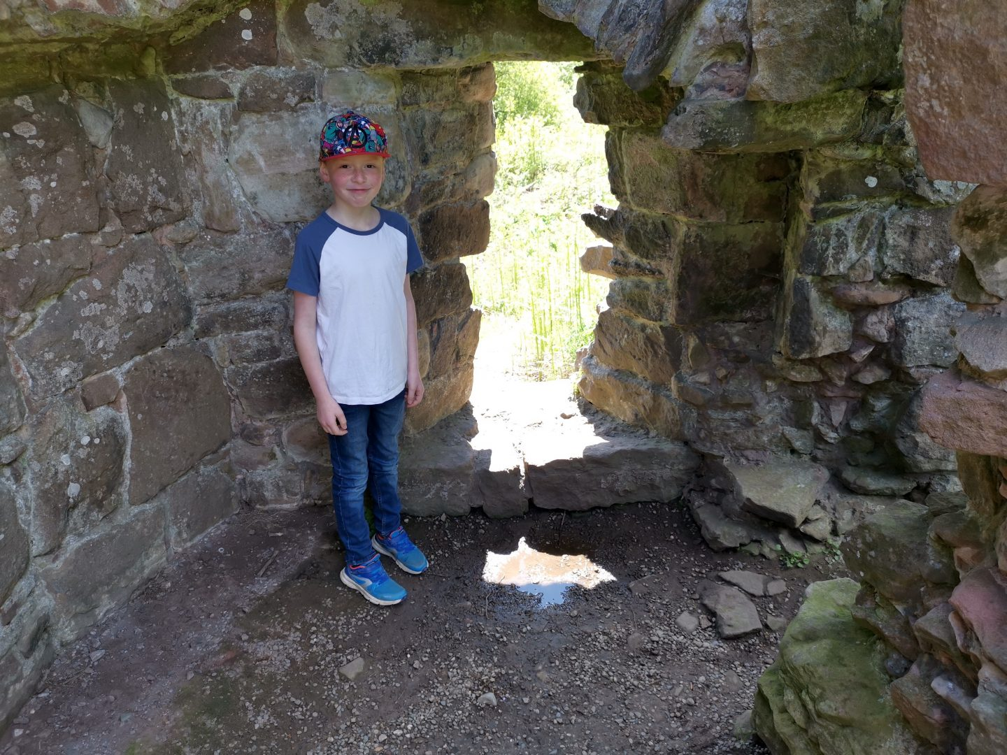 Beeston Castle SAT's Week
