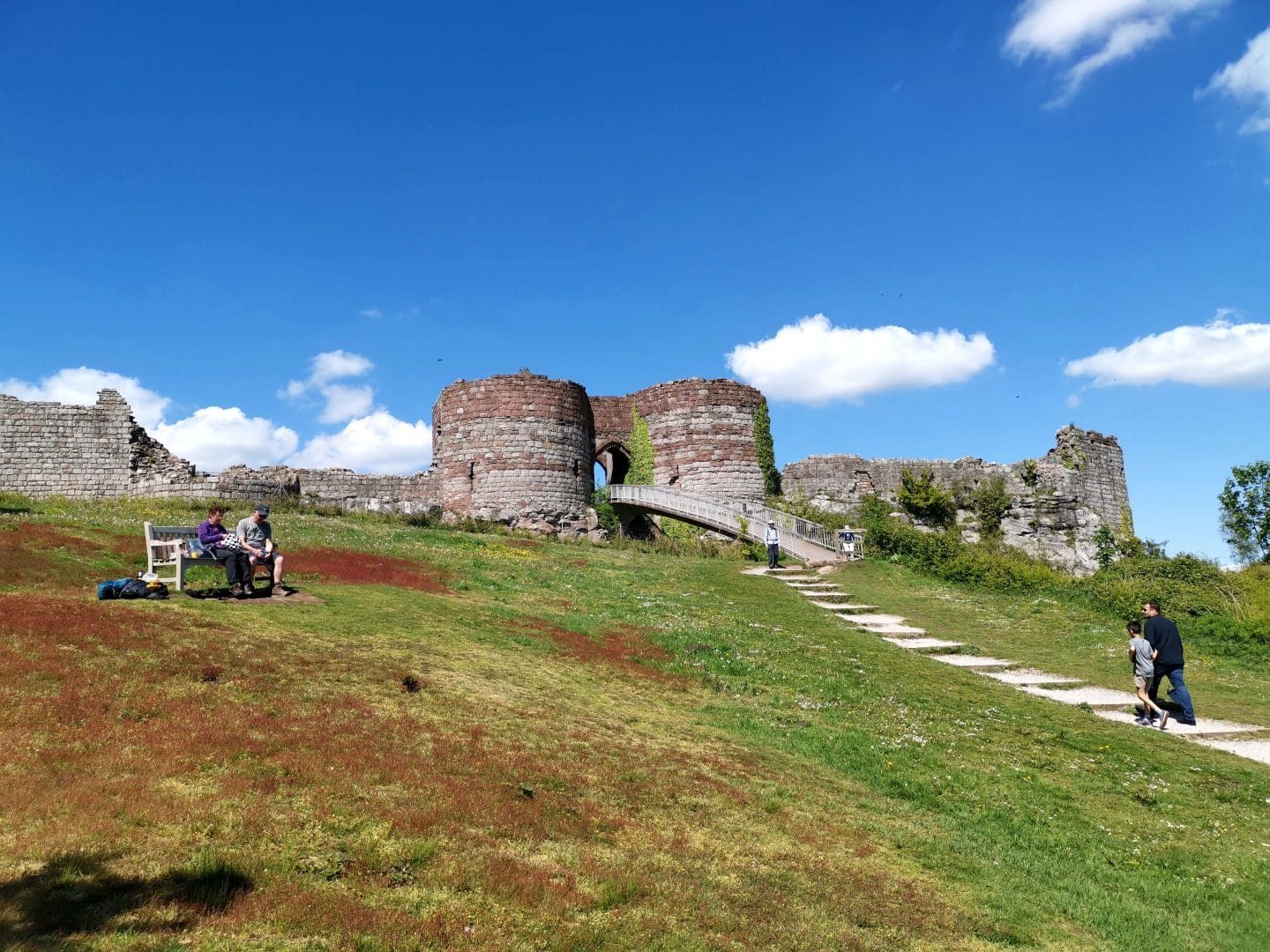 Beeston Castle & Woodland Park – Stopping By On A Whim