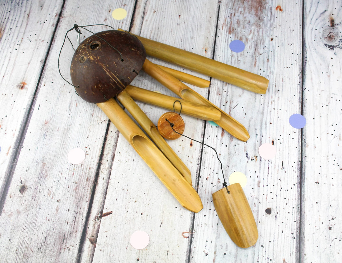 WIN: Vie Naturals Bamboo Wind Chime