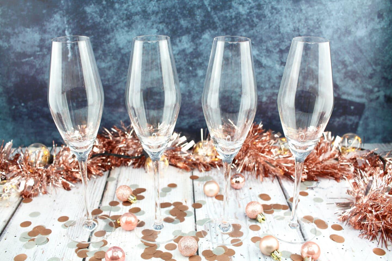 ProCook Crystal Champagne Glasses