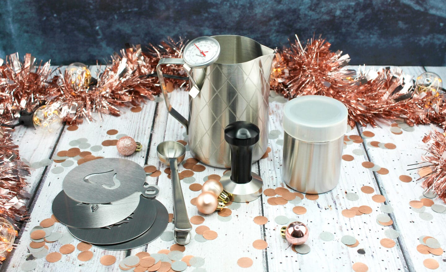 9 Piece Coffee Set from Vonshef