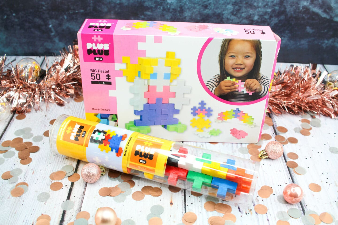 Plus-Plus BIG Basic tube RRP £7.00 & Plus-Plus BIG Pastel box set RRP £15.00