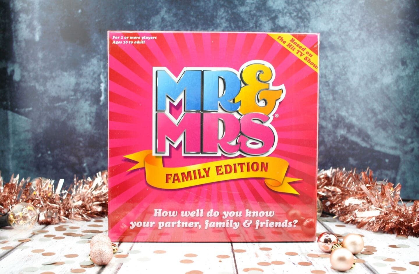 Mr & Mrs Family Edition RRP £20