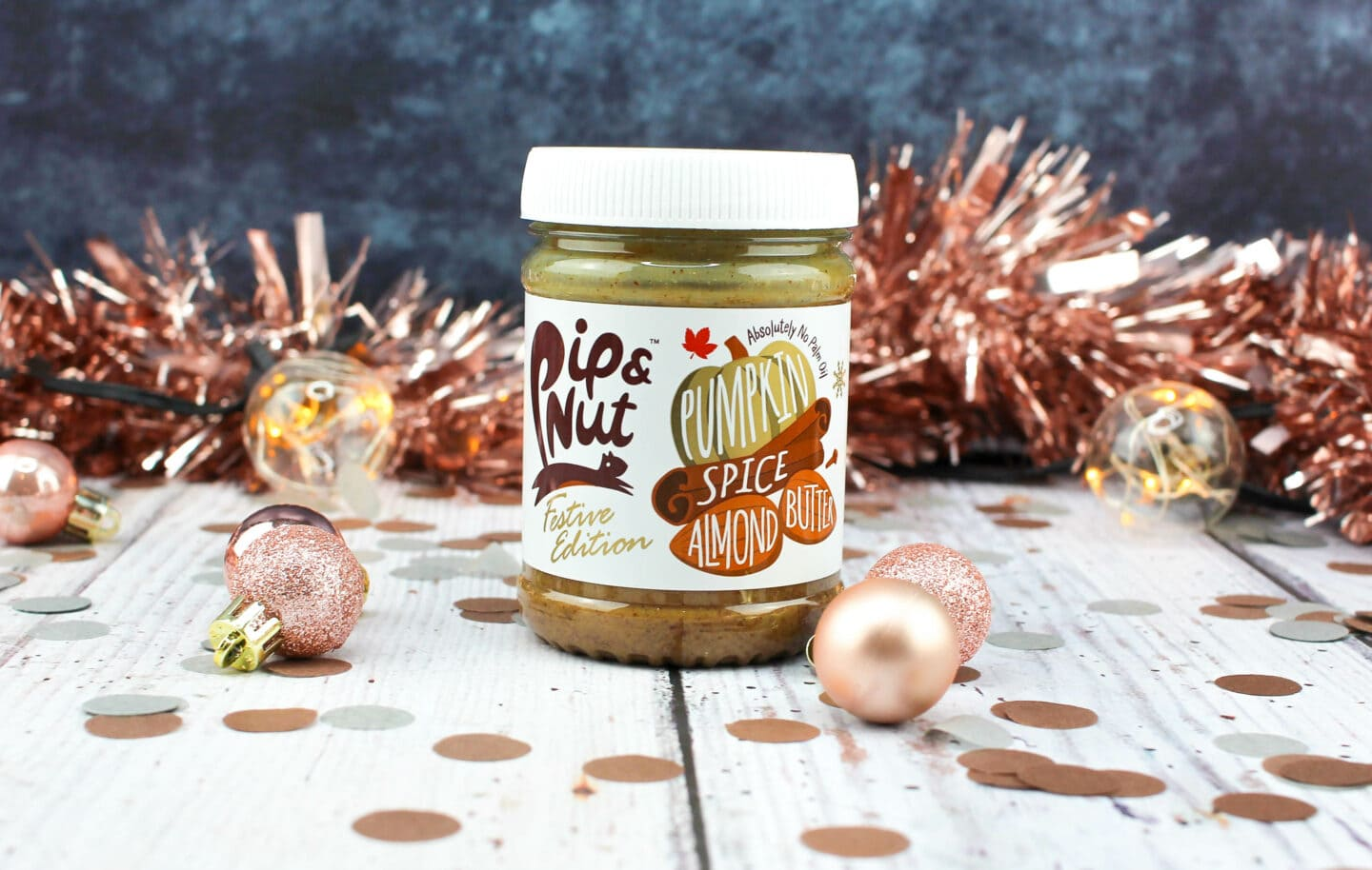 Pumpkin Spice Almond Butter from Pip & Nut