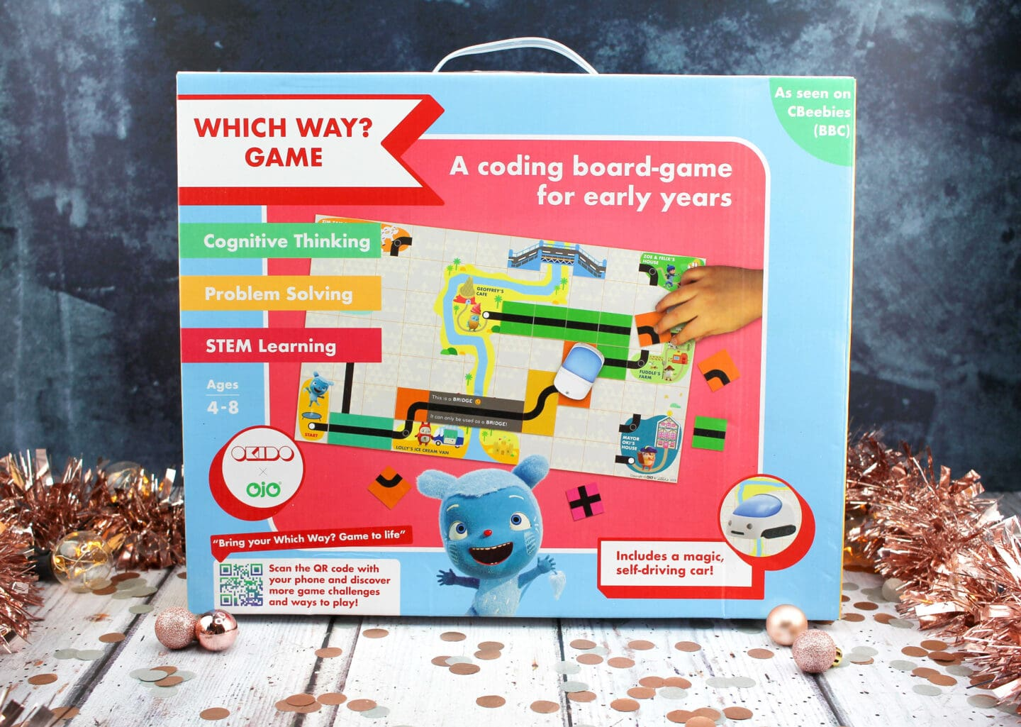 Which Way? Coding Board Game