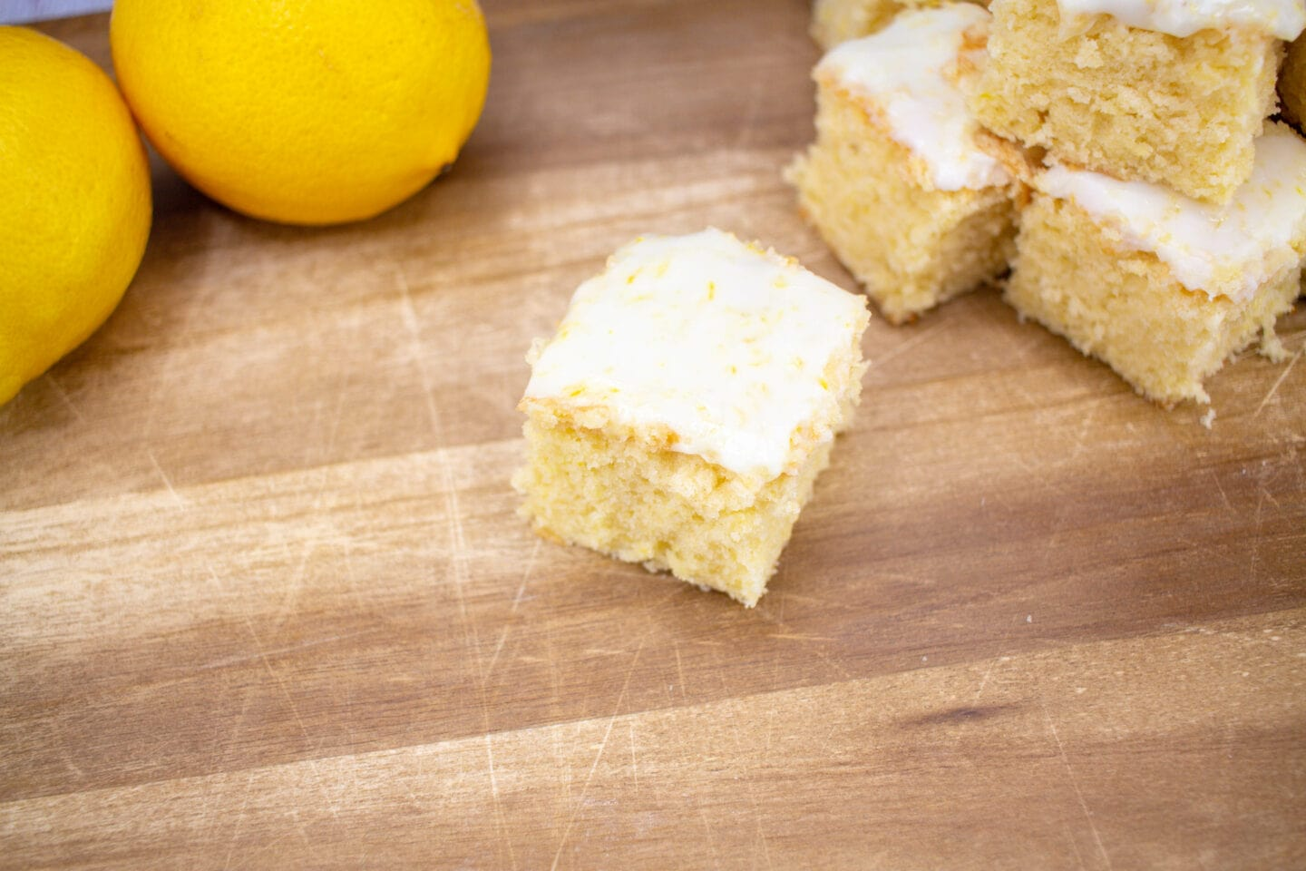 The Best Lemon Drizzle Blondies
